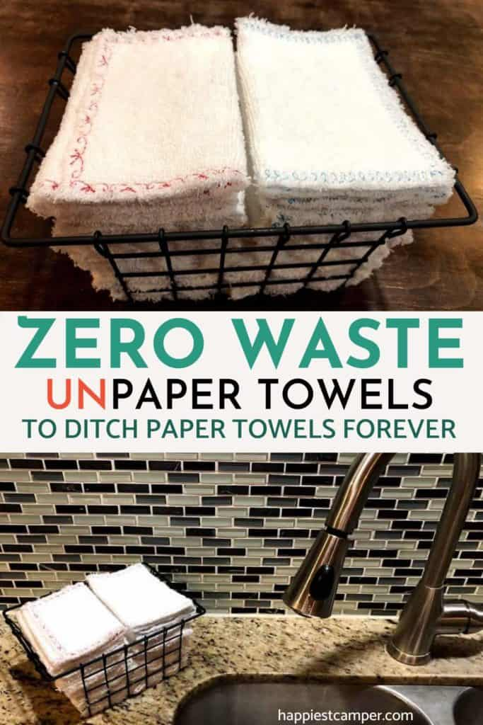 Zero Waste Unpaper Towels