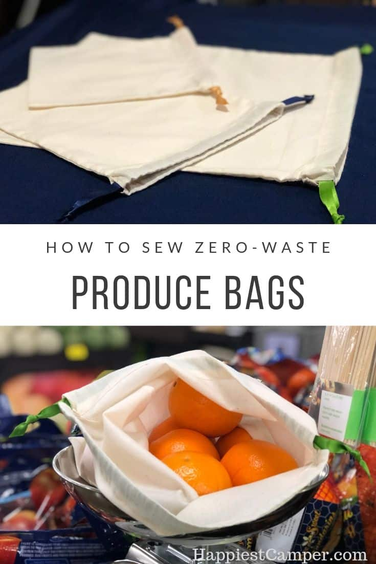 How to Sew Zero-Waste Produce Bags