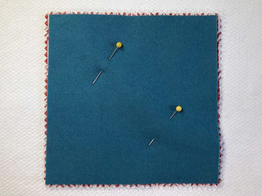 Sandwich Fabric and Pin