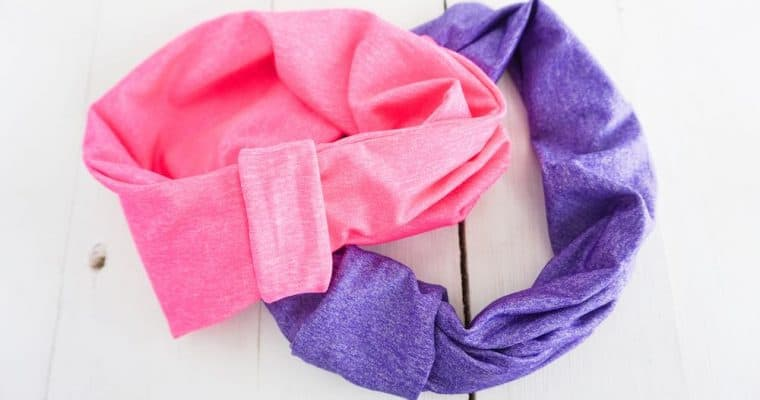 How to Sew a Headband with T-Shirt Scraps