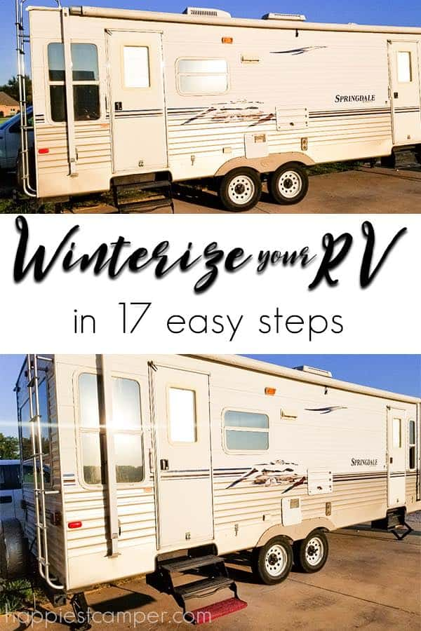 Winterize your RV in 17 Easy Steps