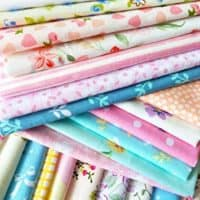 10 x 10 inches Cotton Fabric Squares (50pcs)