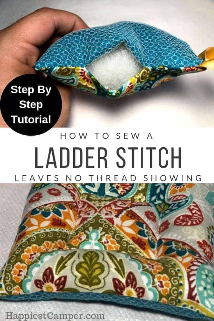 Ladder Stitch Pin