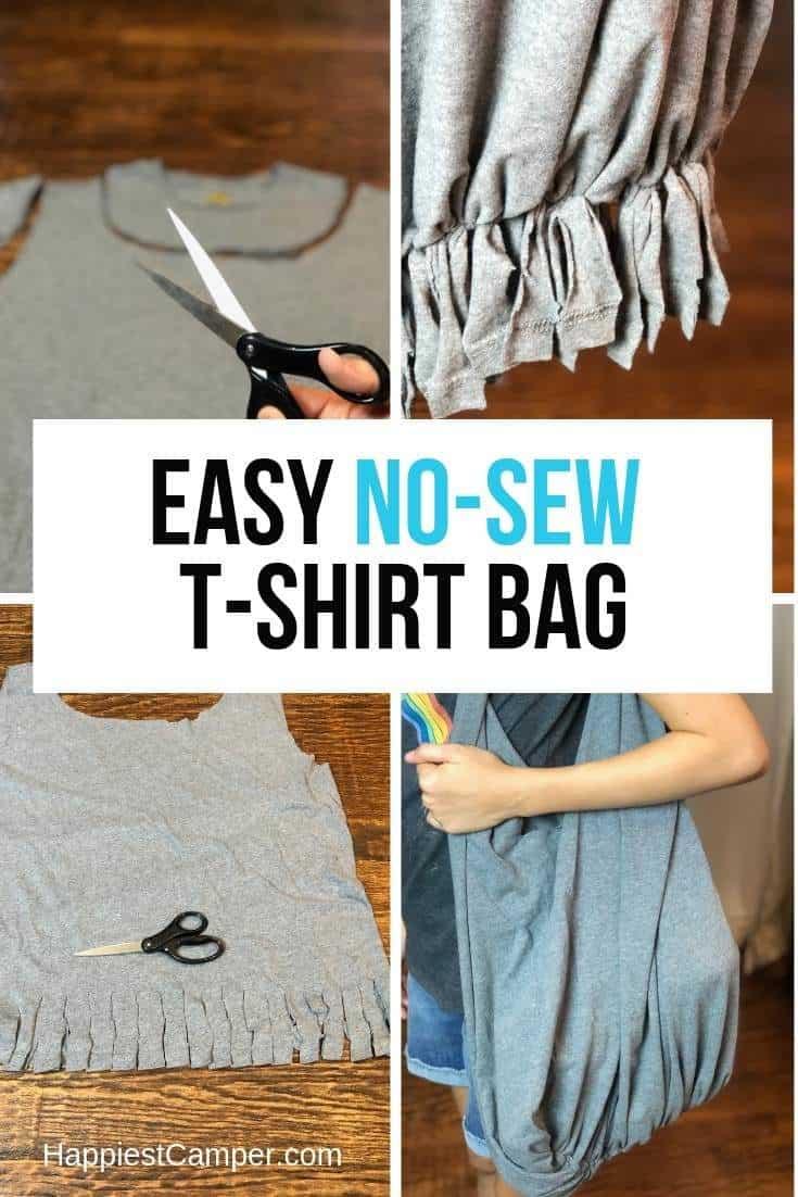 Easy No Sew T-Shirt Bag
