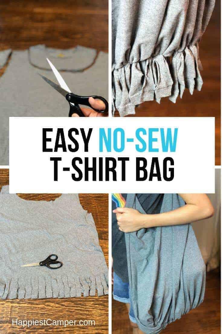Easy No-Sew T-shirt Bag