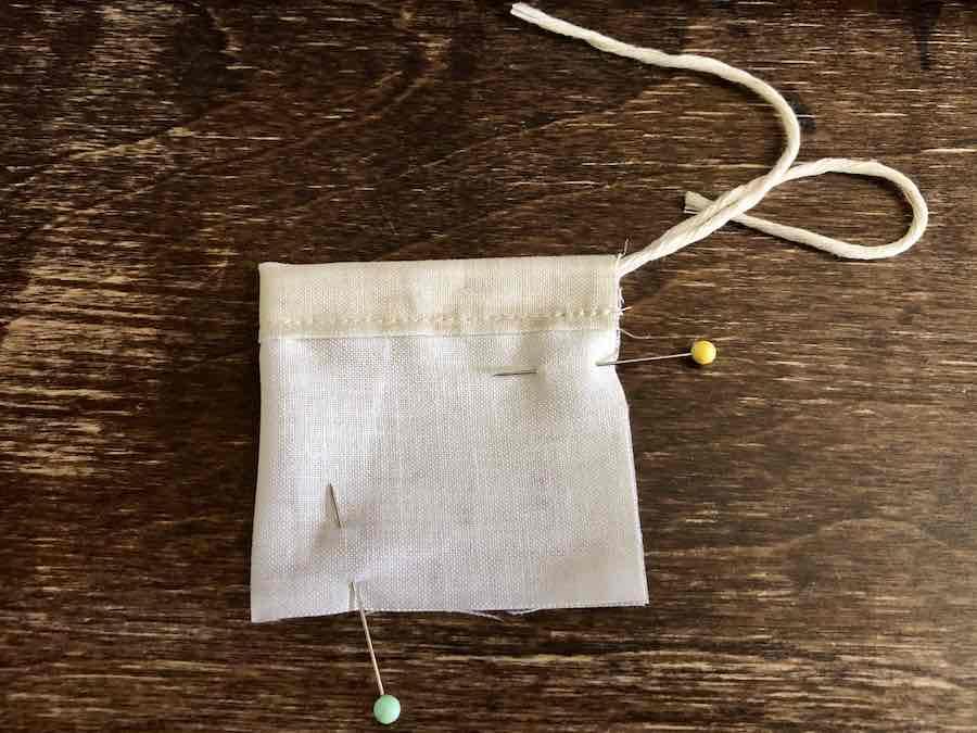 Pin tea Bag