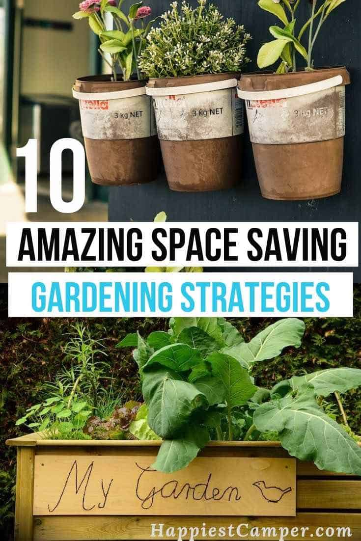 Space Saving Garden Pin