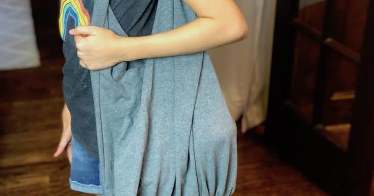 How to Make a No-Sew T-Shirt Bag