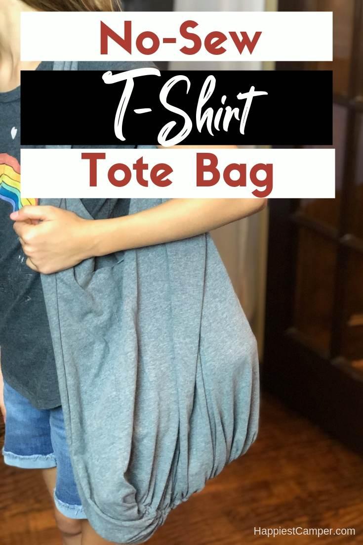 No-Sew T-shirt tote Bag