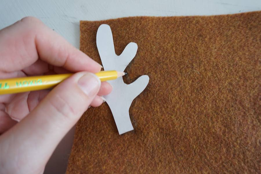 Antlers Cut out