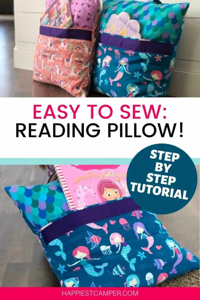 Easy to Sew Reading Pillow