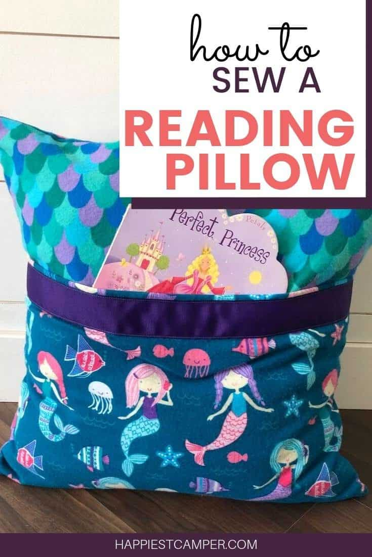 How to Sew a Reading Pillow