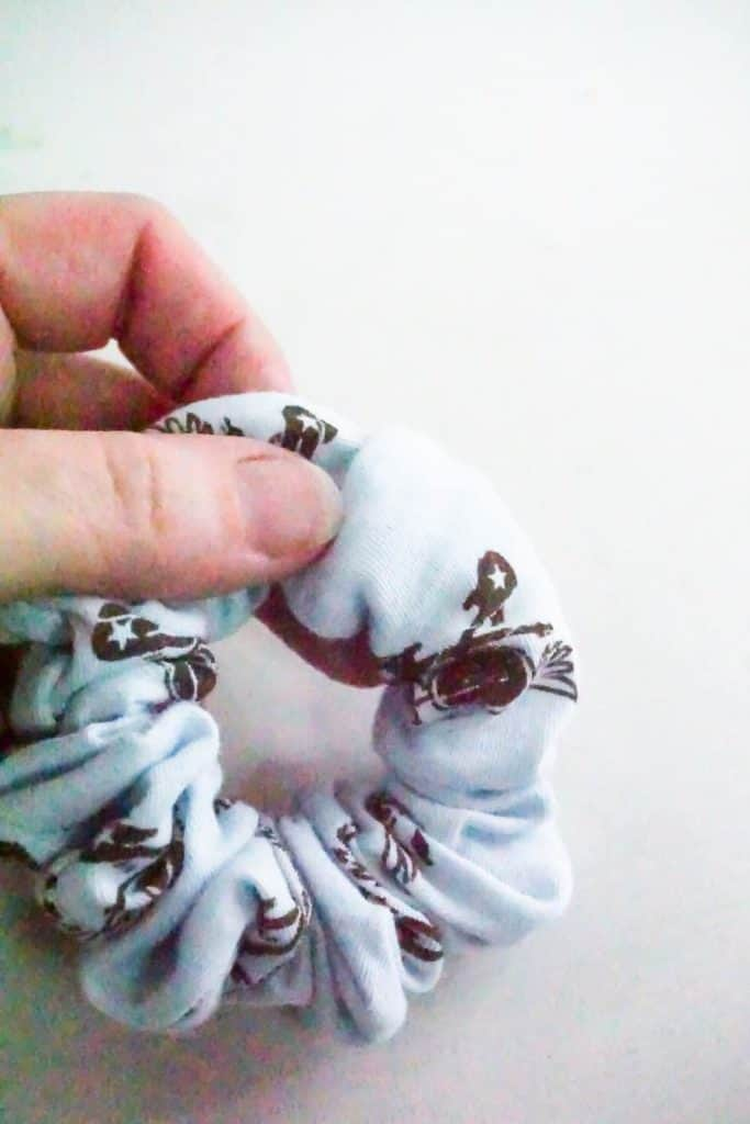 Fold Scrunchie Tube