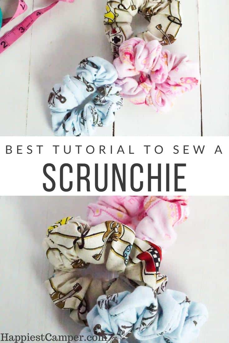 Best Tutorial to Sew a Scrunchie