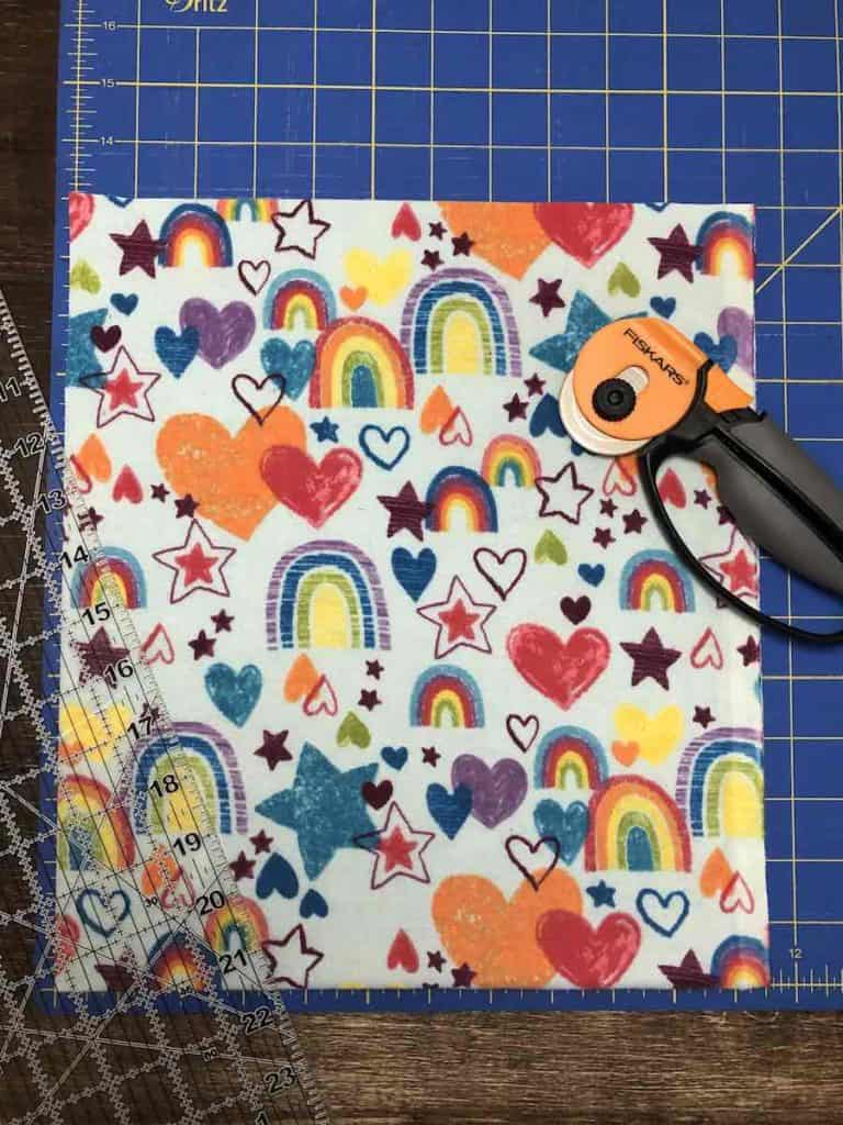 Cut Backpack Fabric