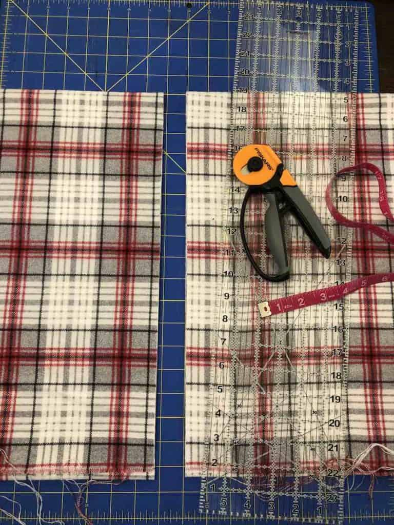 Cut the Scarf Fabric
