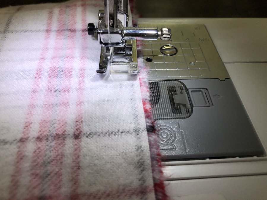 Sewing Pattern Seam