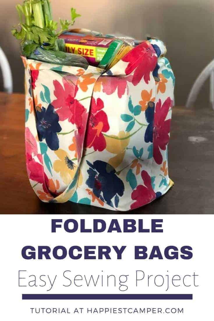 Foldable Reusable Grocery Bag