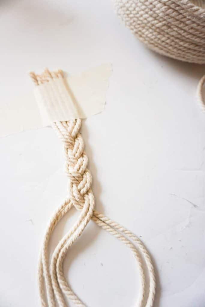 Braided Rope handle