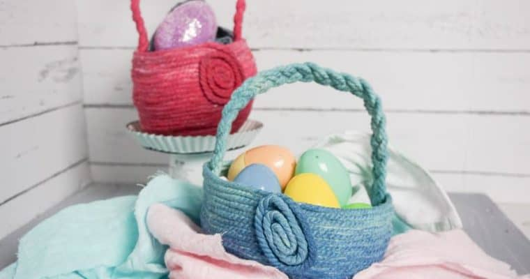 Ombre DIY Easter Basket