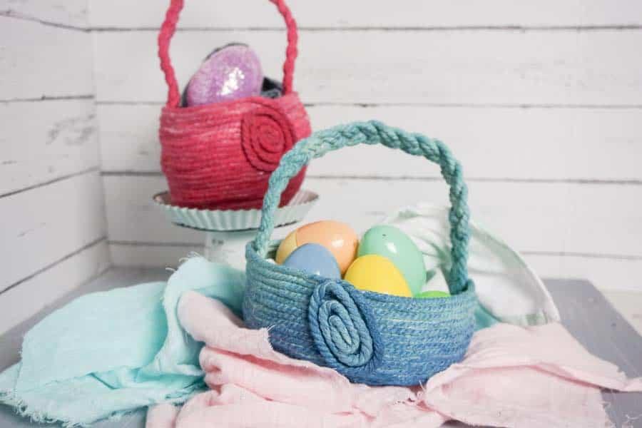 Ombre DIY Easter Basket
