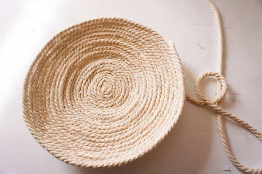 Round bottom rope