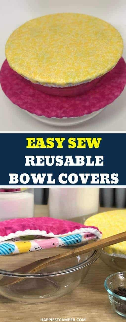 Easy Sew Bowl Cover
