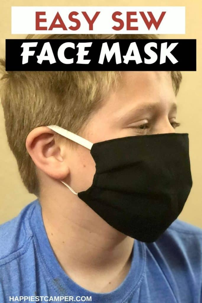 Easy Sew Face Mask