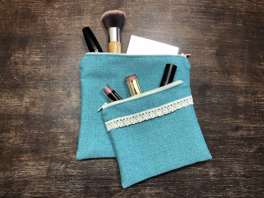 25 Fill your new zipper pouch