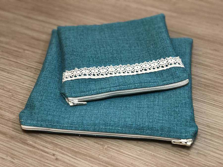 How to Sew a Lined Zipper Pouch Tutorial