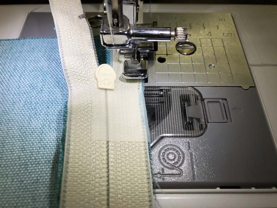 7 Stitch with 1/8th inch seam allowance