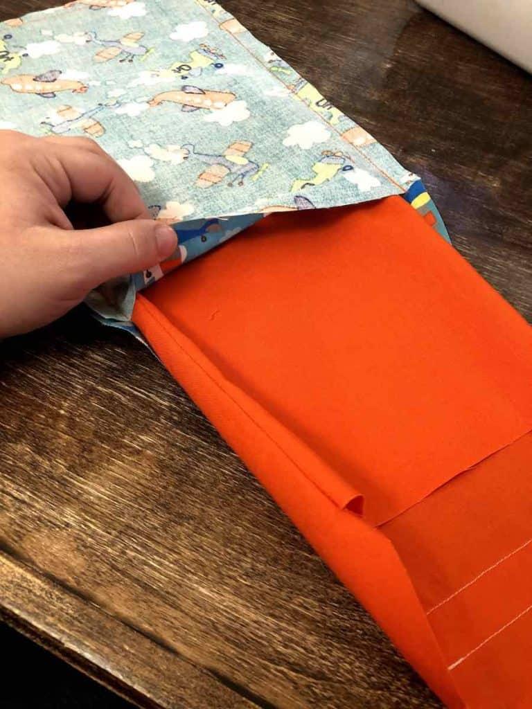 inserting liner