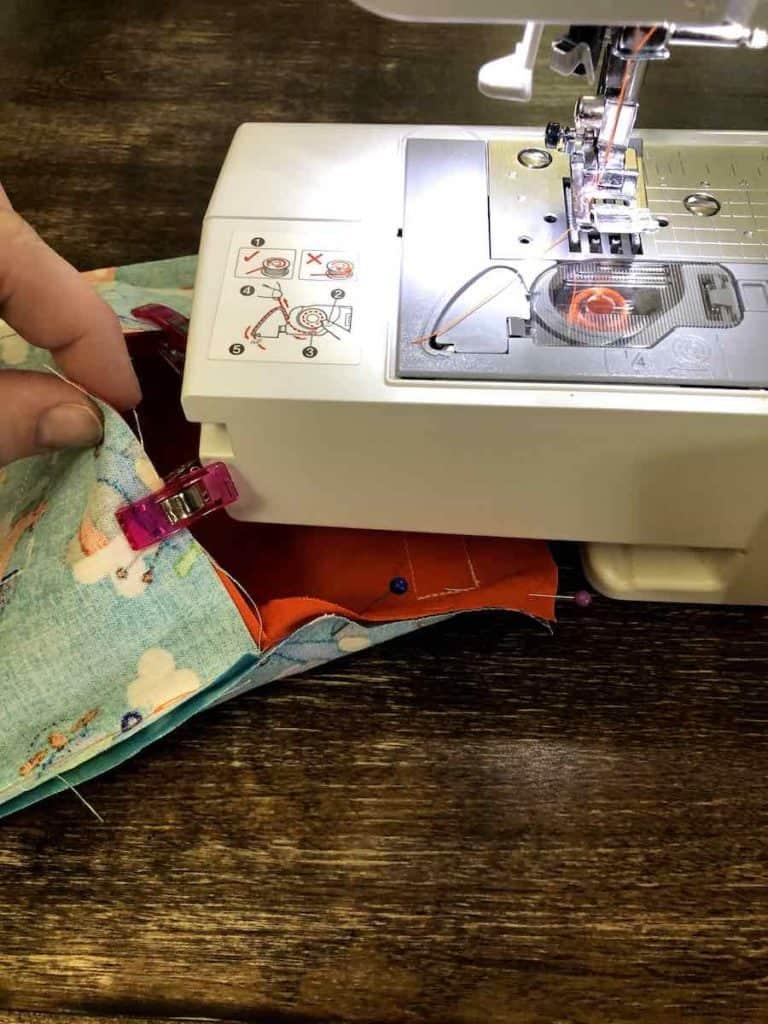 sewing clutch