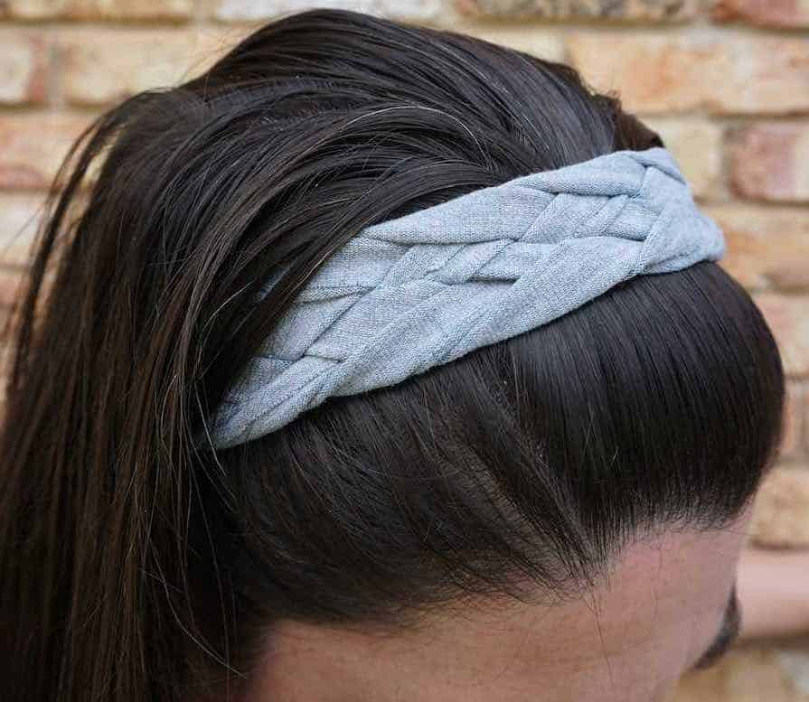 How to Make a No-Sew Braided Headband Tutorial