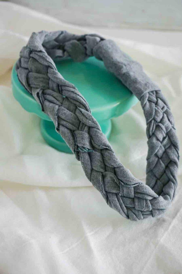 No-Sew Braided Headband