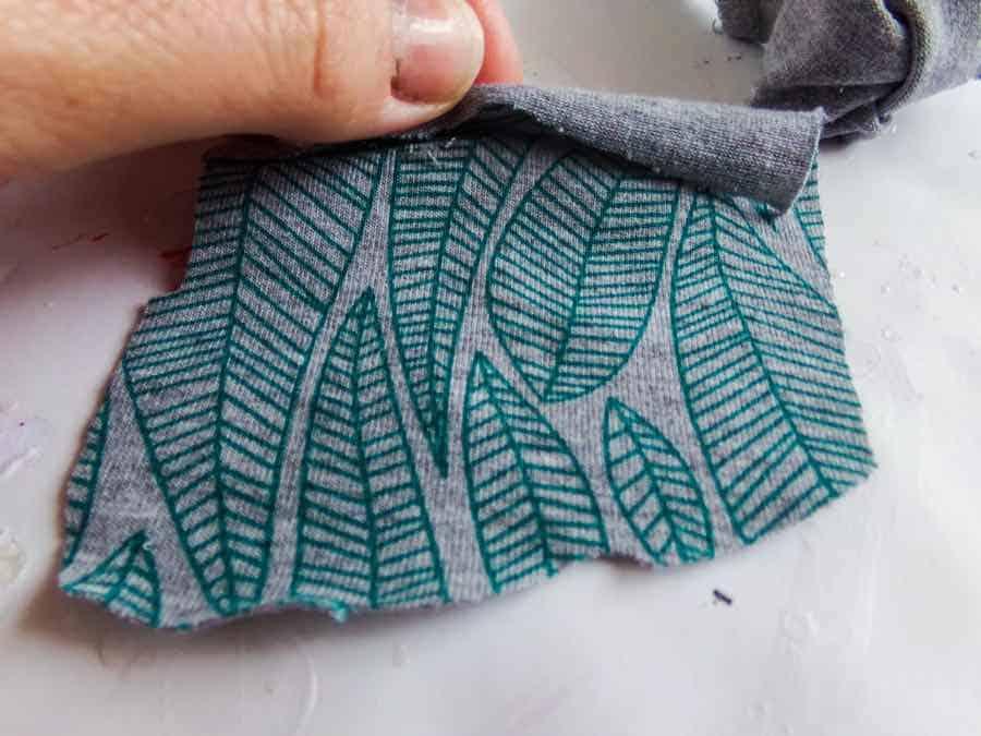 headband fabric rectangle