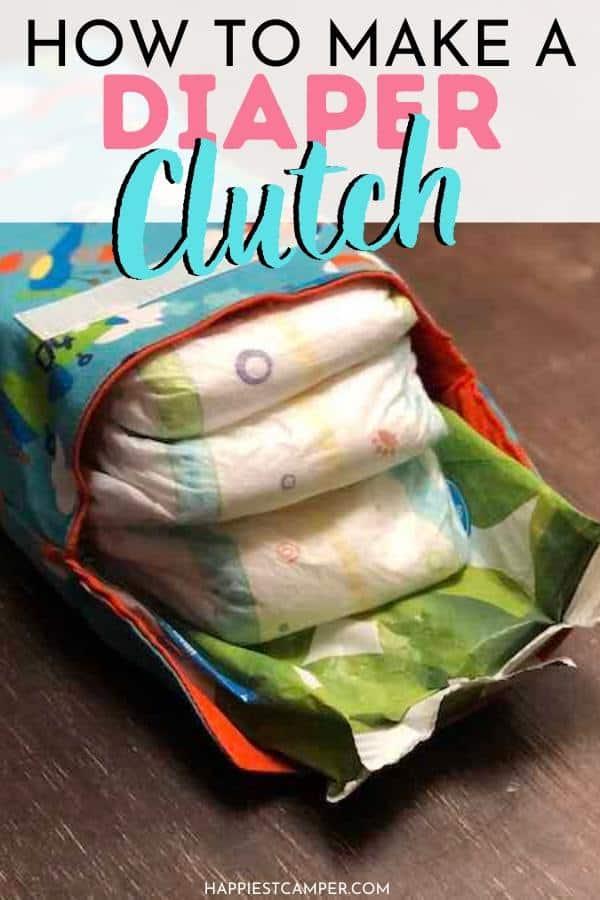 How to Make a Diaper Clutch Pin