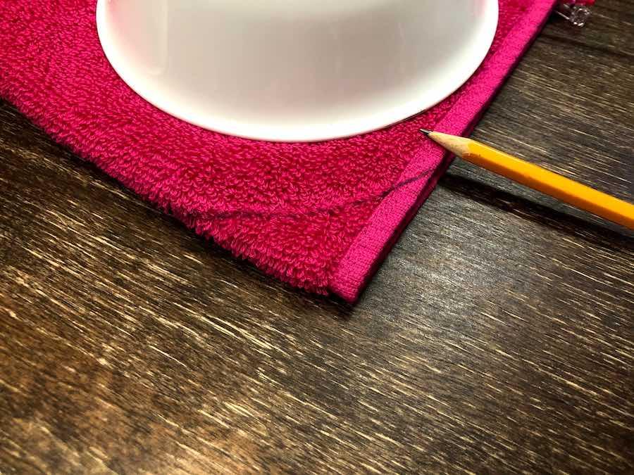rounding hood for Kid's hooded towel