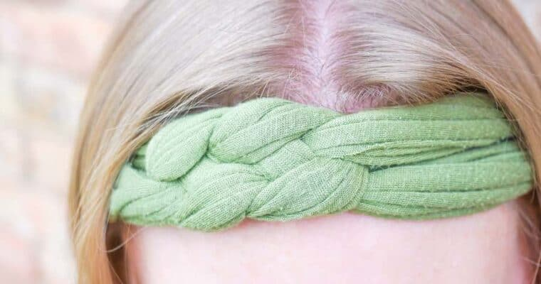 How to Make a No-Sew Sailor's Knot Headband