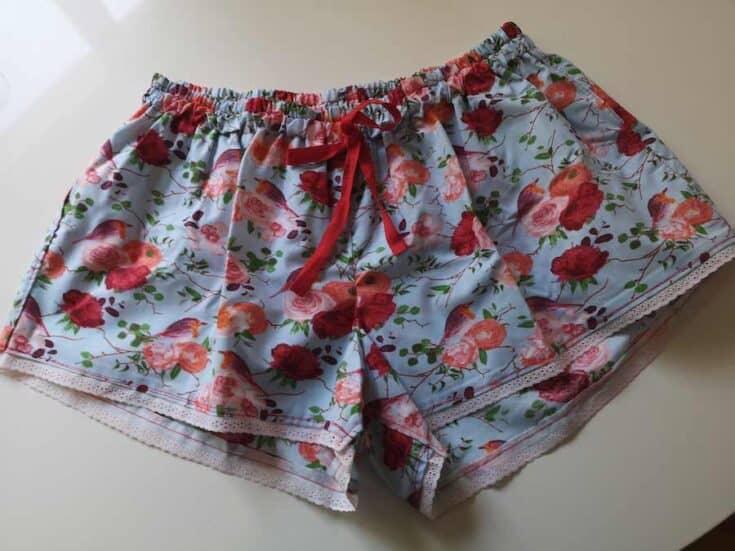 How to Sew Women's Sleep Shorts