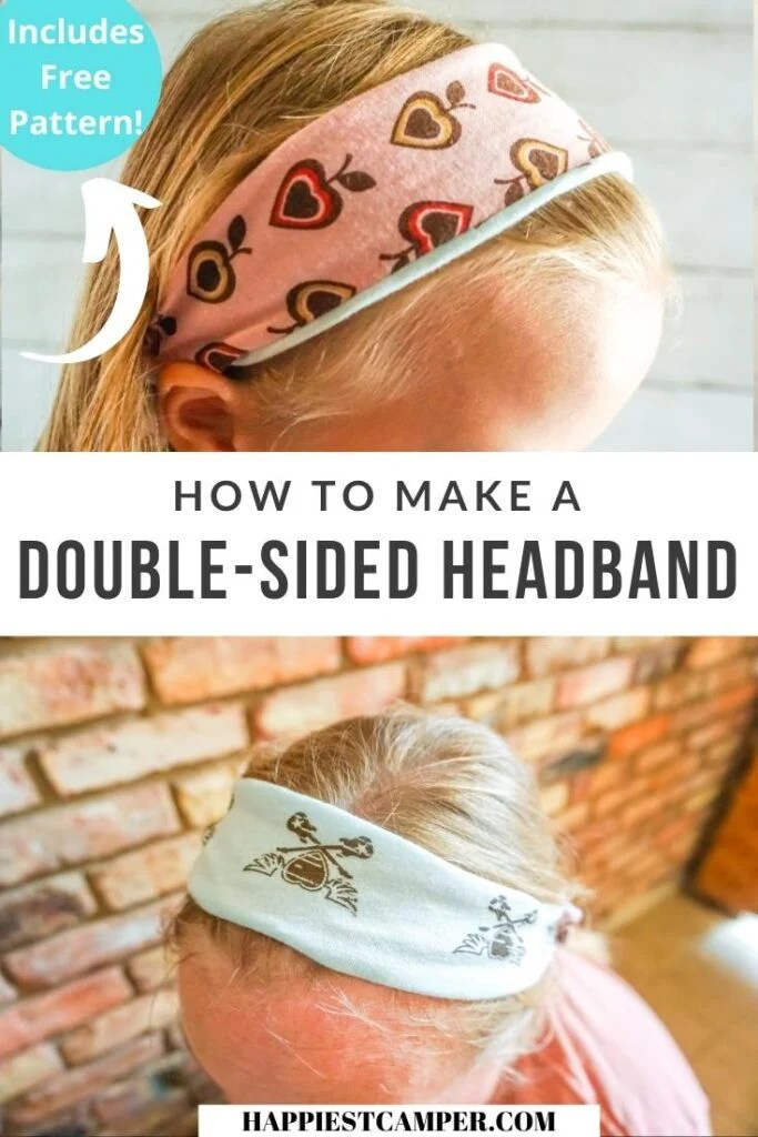How To Make A Double-Sided Headband with free pattern