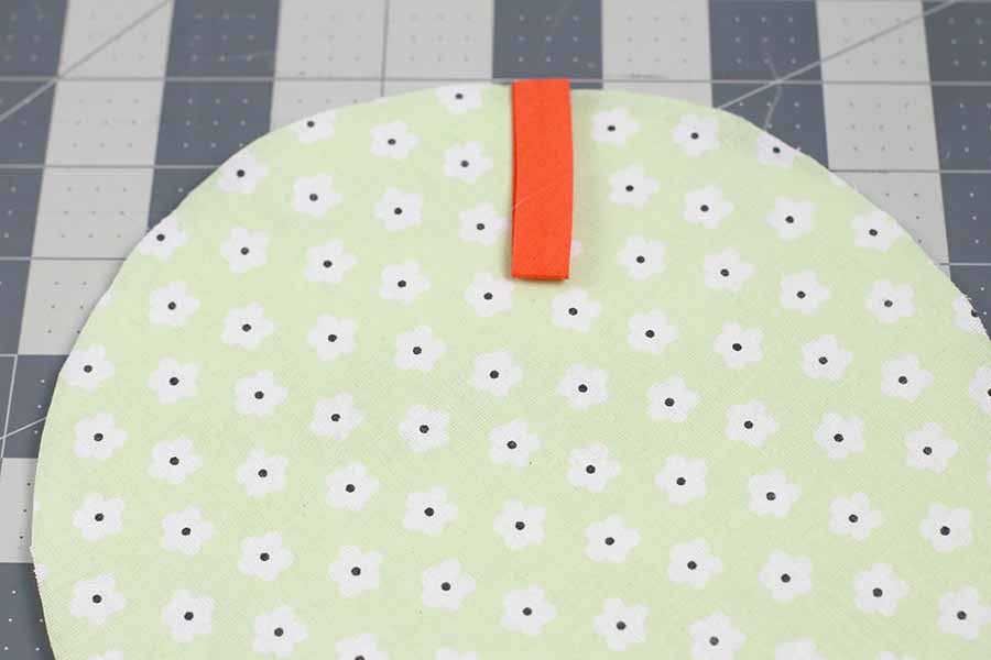 adding hanger for round potholder