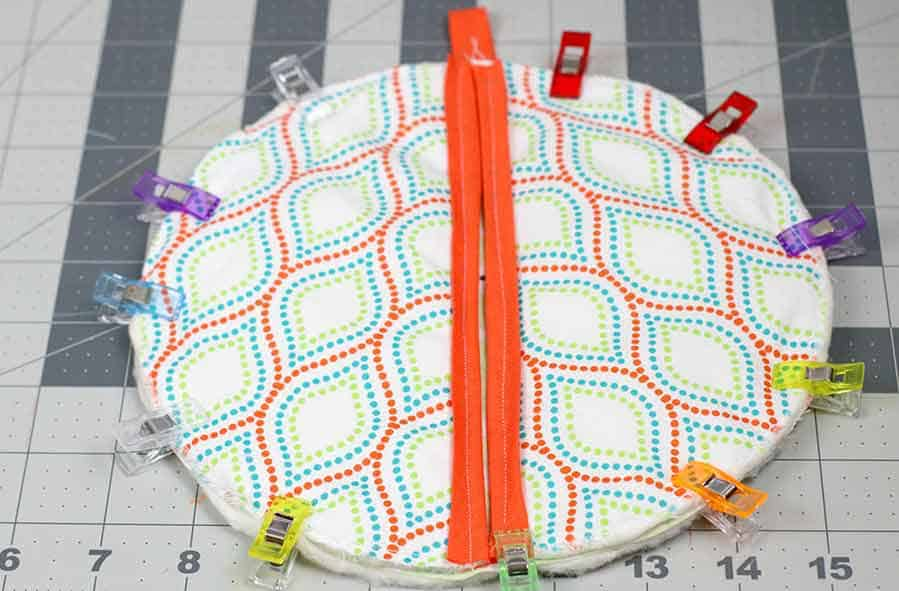 adding hand-holder to potholder
