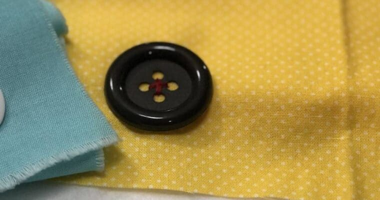 How to Sew a Four-hole Button by Hand