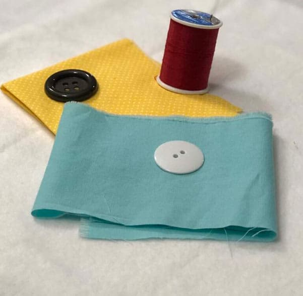 How To Sew A Four-hole button