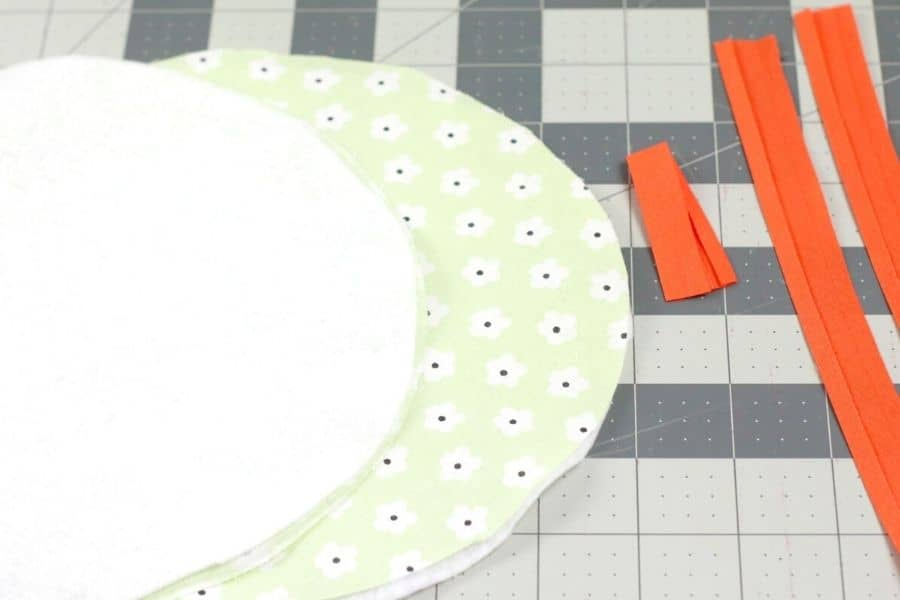cutting materials for potholder