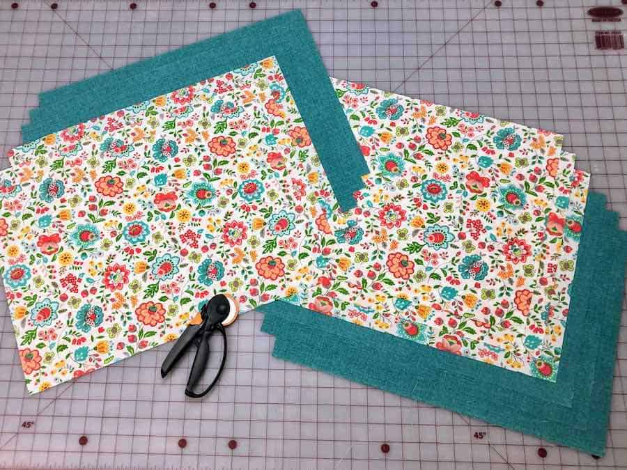 measure and cut your fabric