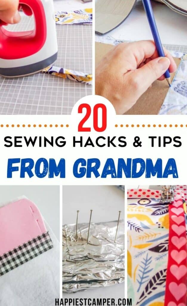 sewing hacks and tips from grandma