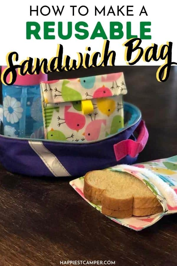 How To Make A Reusable Sandwich Bag.