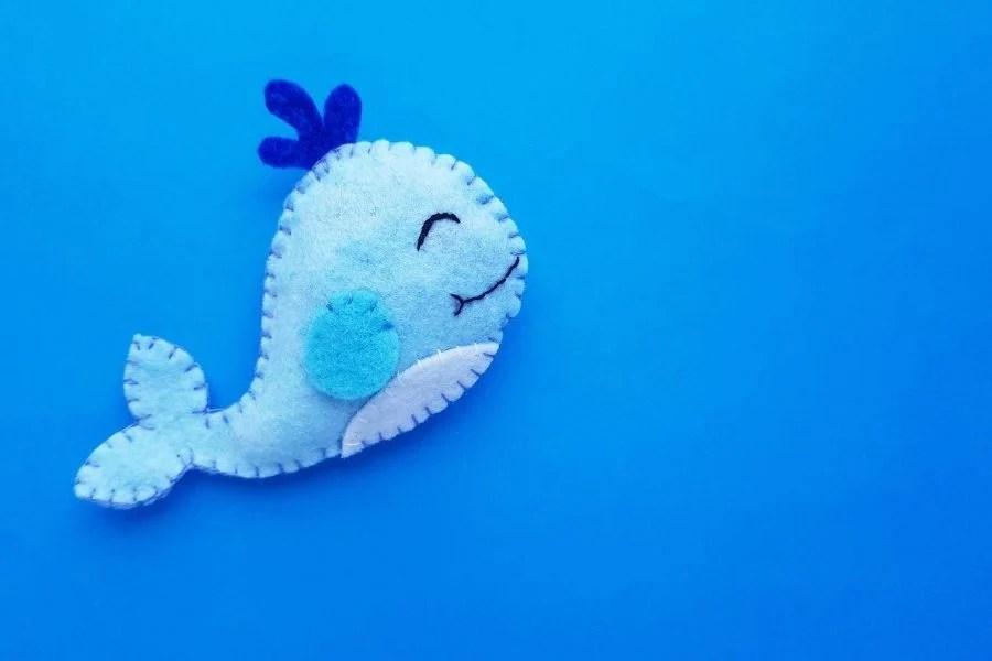 blue felt whale